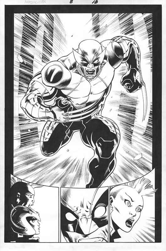 Amazing X-men # 8 pg18