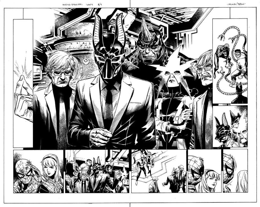 Dead No More: Clone Conspiracy # 2 pg 8&9
