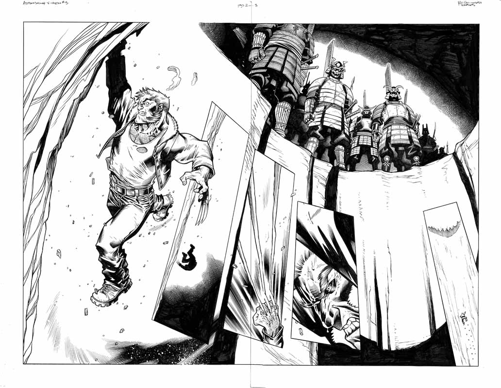 Astonishing X-men # 3 pg 2&3