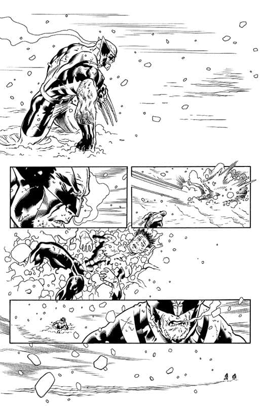 Amazing X-men # 4 pg 1