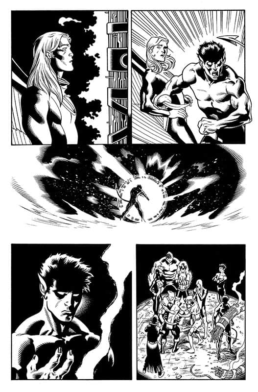 Amazing X-men # 5 pg18
