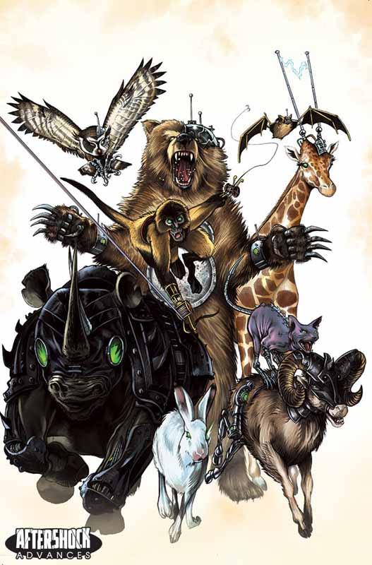 Animosity Evolution #1 Cvr B