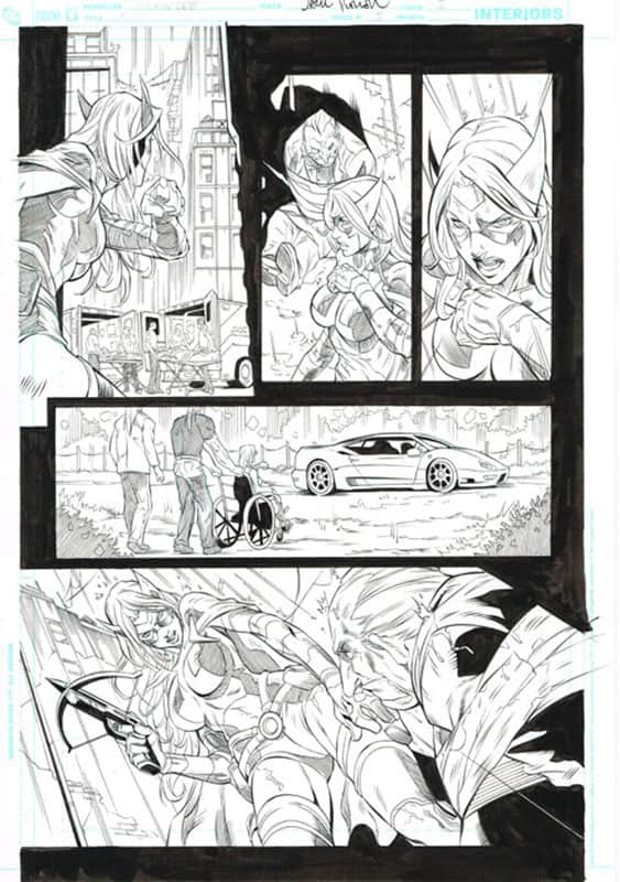 Birds of Prey # 5 pg 5