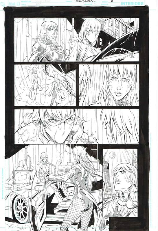 Birds of Prey # 5 pg 8