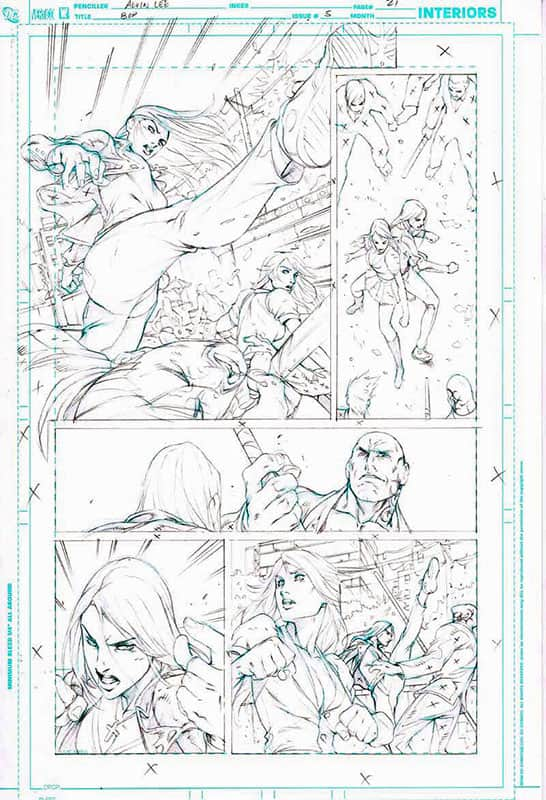 Birds of Prey # 5 pg21