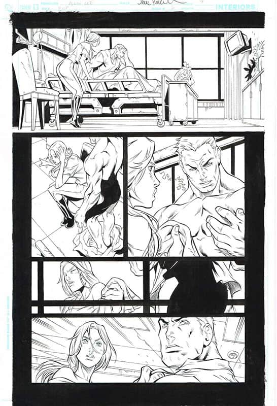 Birds of Prey # 6 pg 7