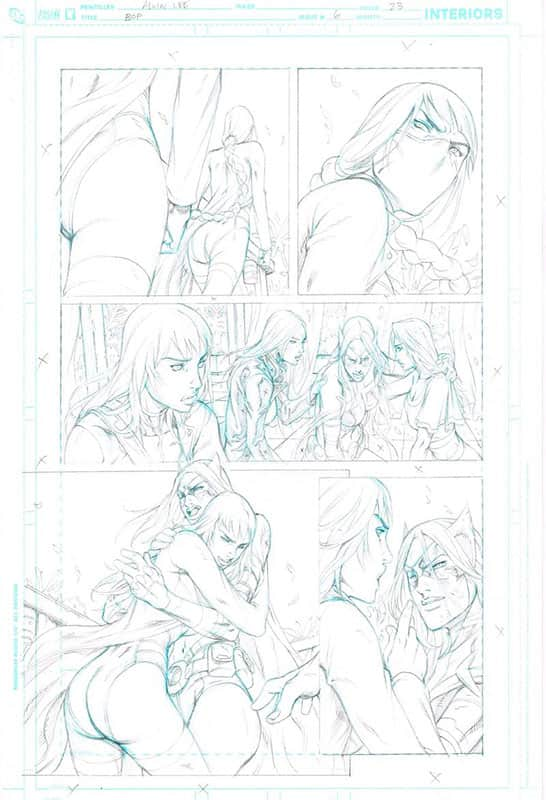 Birds of Prey # 6 pg23