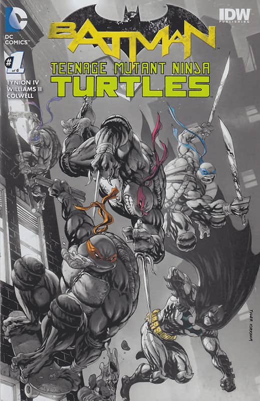 Batman/TMNT #1 Hastings Variant