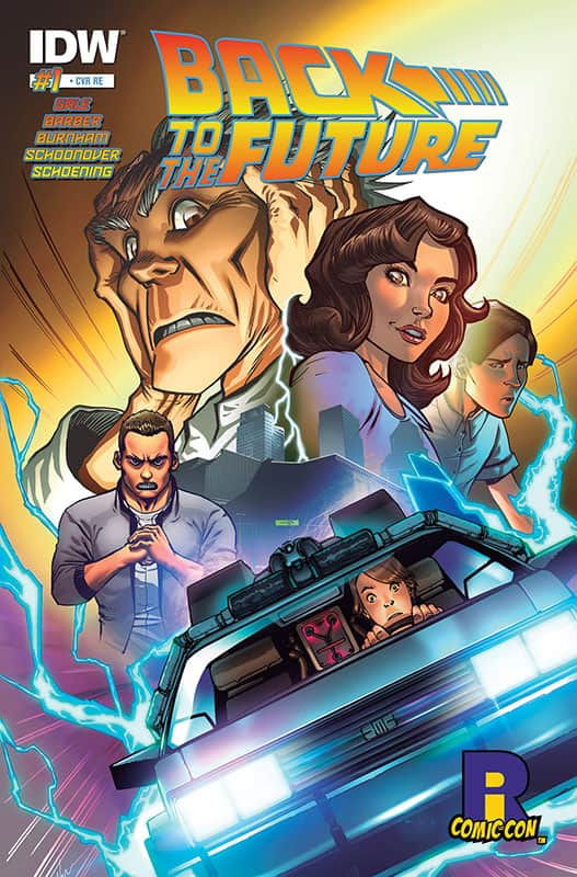Back to the Future # 1 RICC Variant