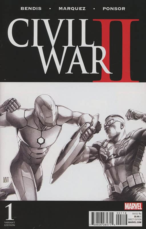 Civil War II # 1