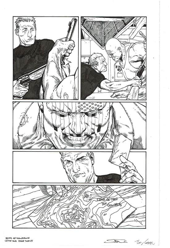 Death of Wolverine #1 pg12
