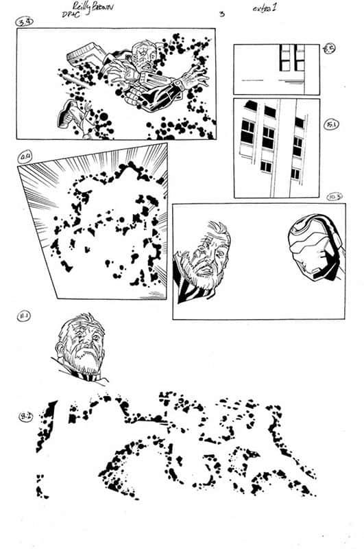 DeadPool & Cable Split Second # 3 pg 1