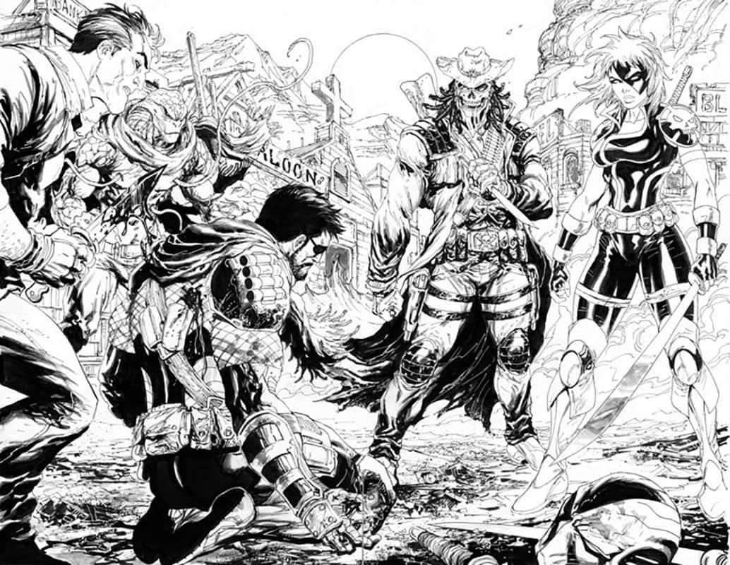 Deathstroke #17 pg 2&3