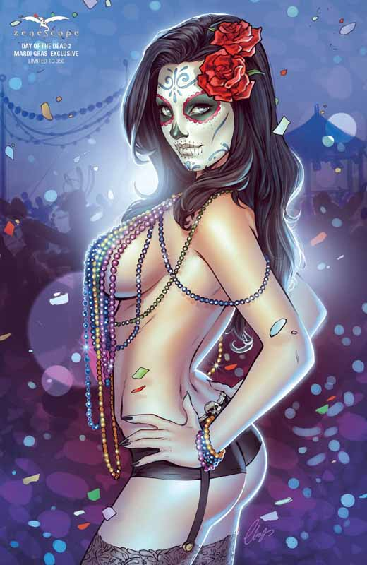 Day of the Dead # 2 Cover E Mardi Gras Variant