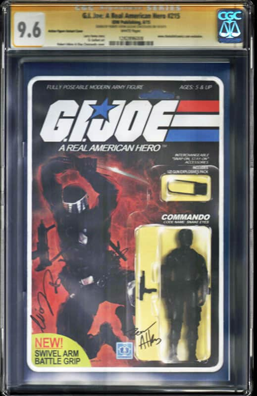 GI Joe: Real American Hero #215  CGC 9.6 WP Signature Series