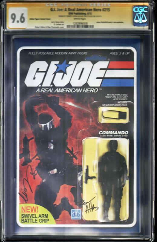 GI Joe: Real American Hero #215  CGC 9.6 WP Signature Series