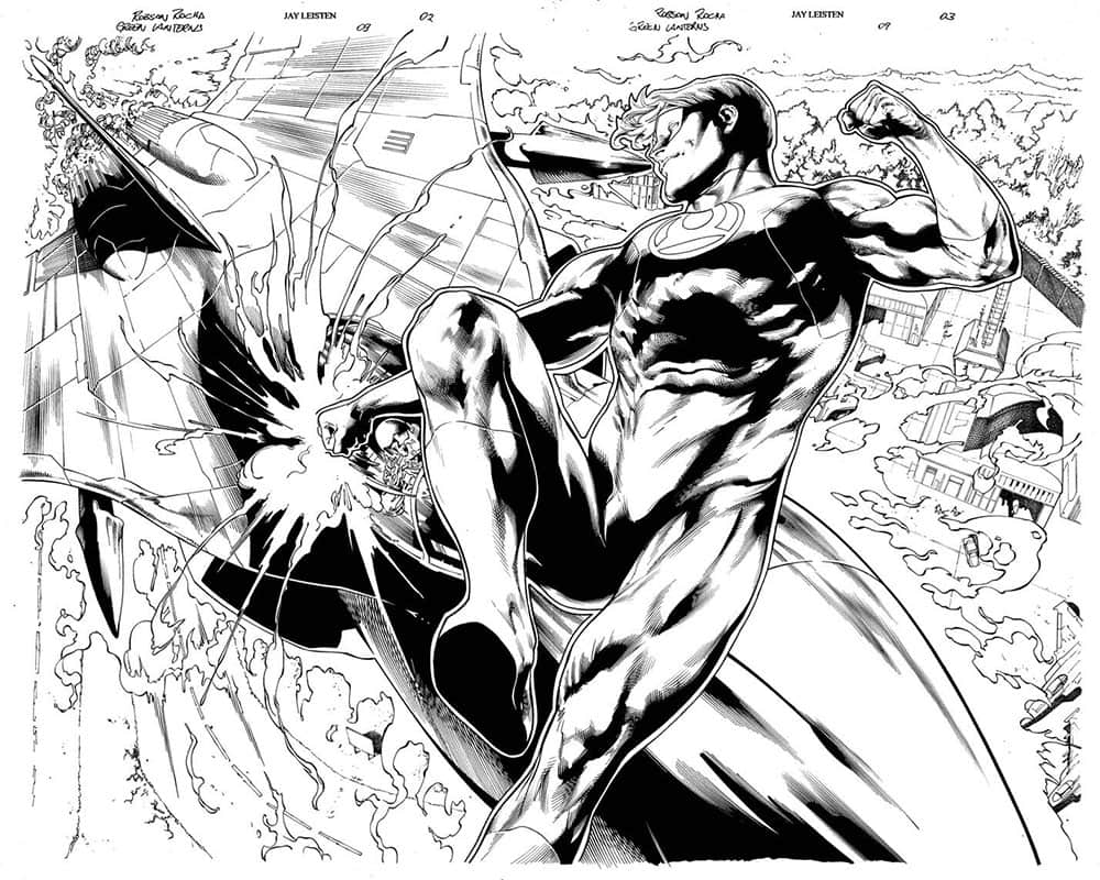 Green Lanterns # 9 pg 2&3