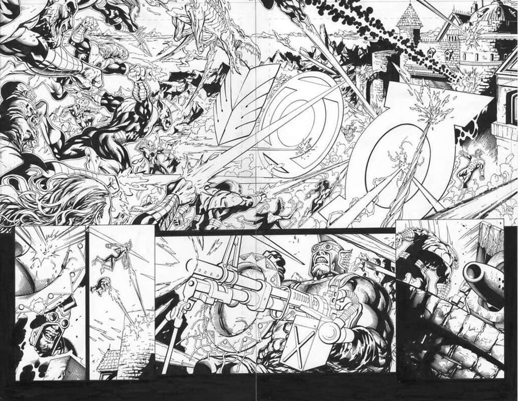 Green Lantern Corps #56 pg10&11
