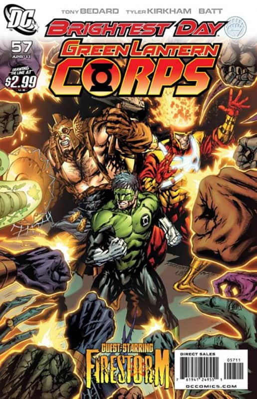Green Lantern Corps #57 cover