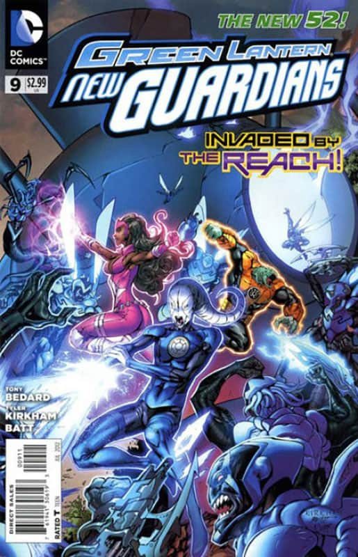 GL: New Guardians # 9
