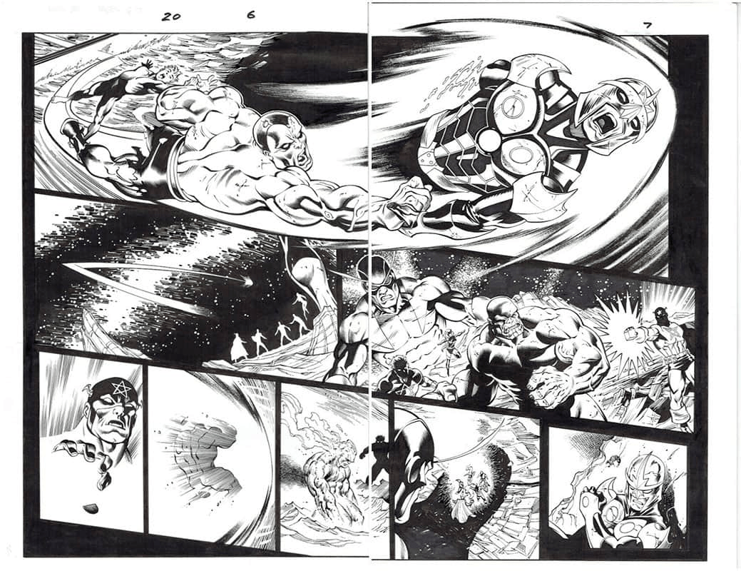 Guardians of the Galaxy #20 pg 6&7