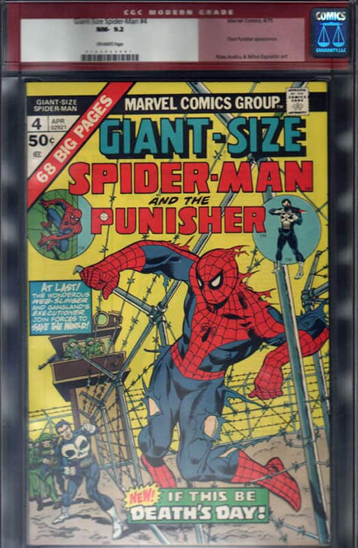 Giant Size Spider Man #4 3rd Punisher