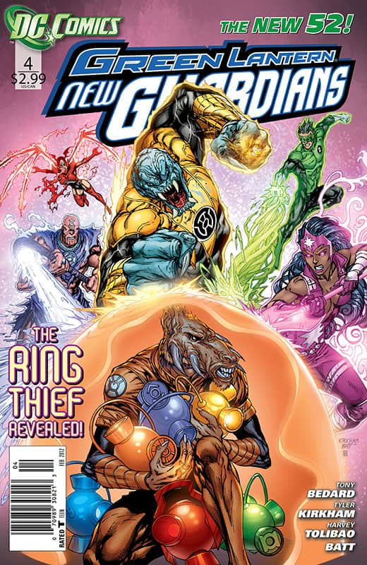 GL: New Guardians # 4