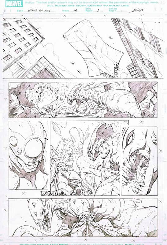 Heroes for Hire # 14  pg 1