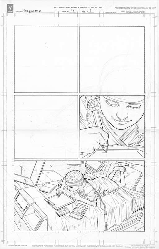 Harbinger #17 pg 1