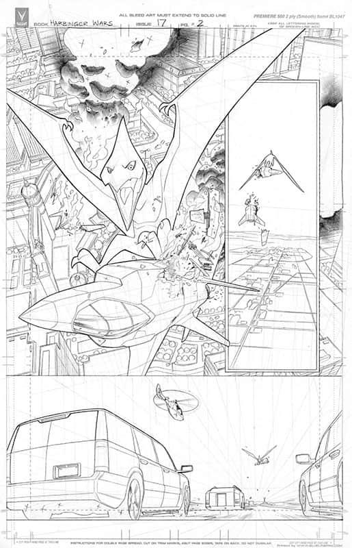 Harbinger #17 pg 2