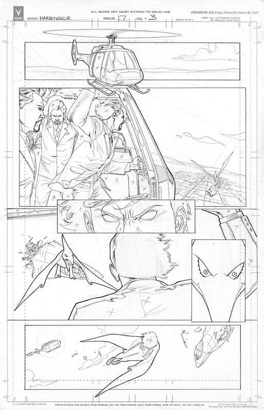 Harbinger #17 pg 3