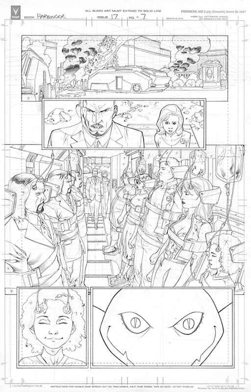 Harbinger #17 pg 7