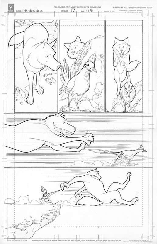 Harbinger #17 pg13