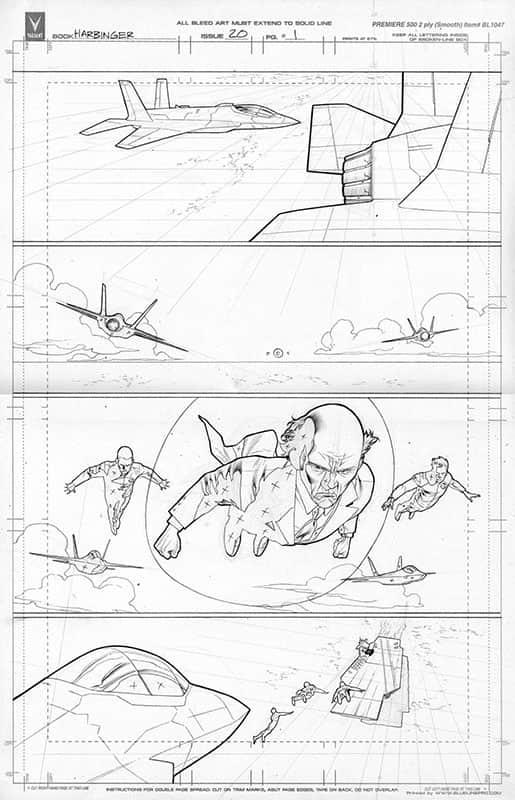 Harbinger #20 pg 1