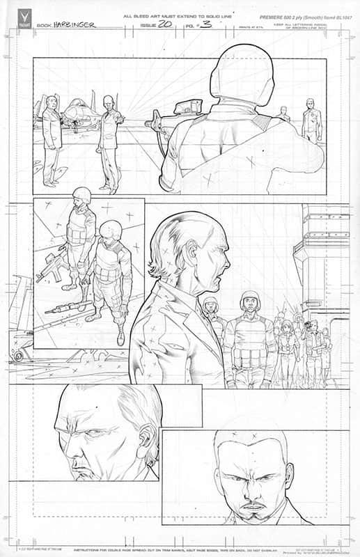 Harbinger #20 pg 3