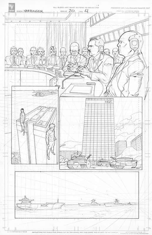 Harbinger #20 pg 4
