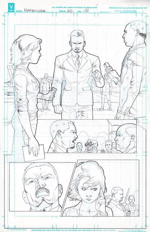 Harbinger #20 pg 5