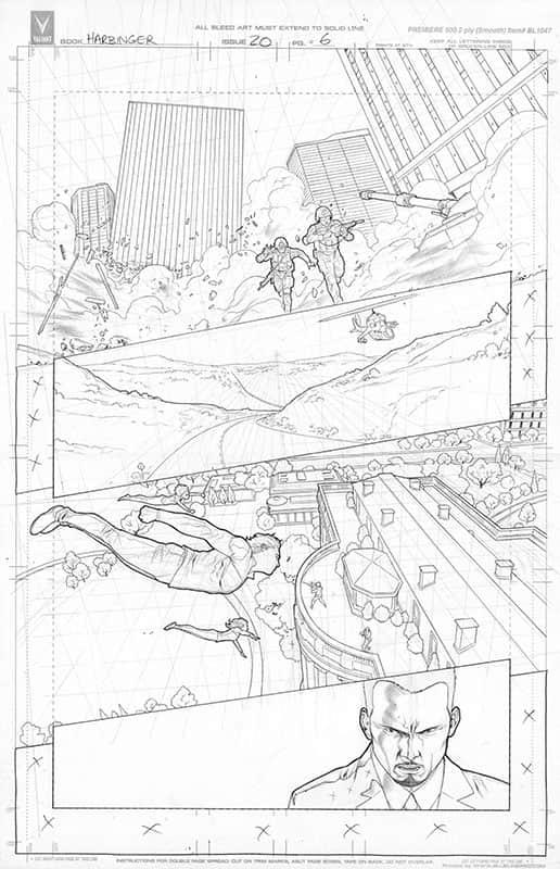 Harbinger #20 pg 6