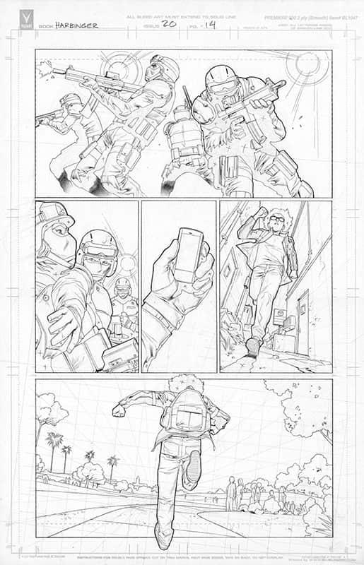 Harbinger #20 pg14