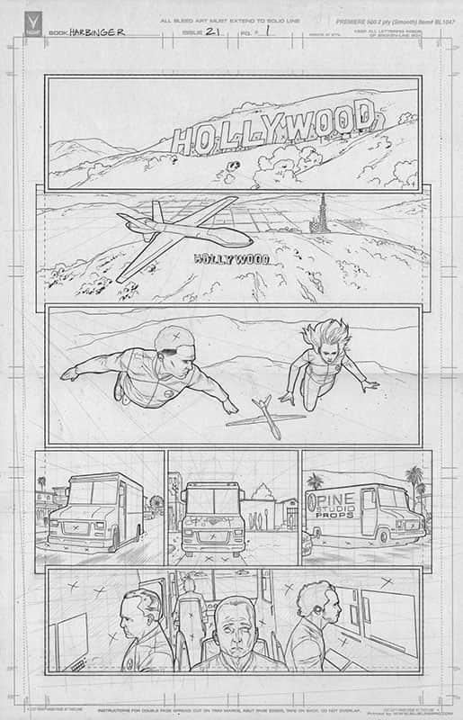 Harbinger #21 pg 1