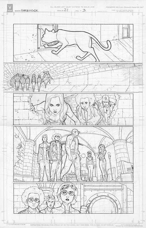 Harbinger #21 pg 3