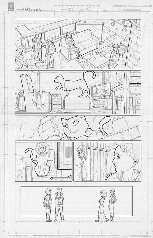 Harbinger #21 pg 4