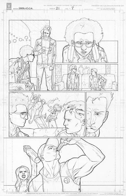 Harbinger #21 pg 8