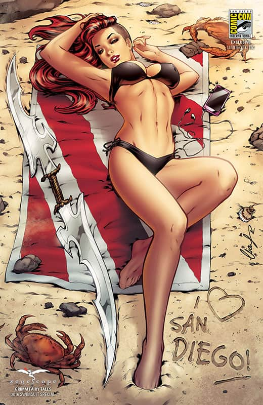GFT: Hell Child SwimSuit Special SDCC 2016