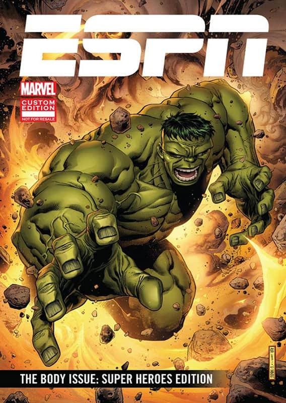 ESPN The Body Issue: Super Hero Edition