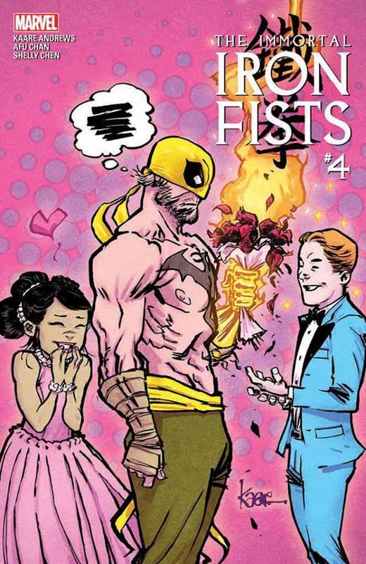 Iron Fist # 4