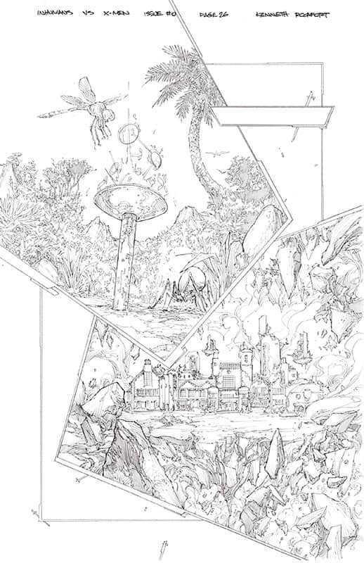Inhumans vs. X-Men # 0 pg26