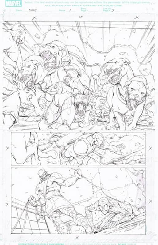 Marvel Adventures : Spiderman # 1 pg  5