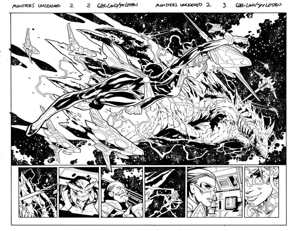 Monsters Unleashed # 2 pg 2&3