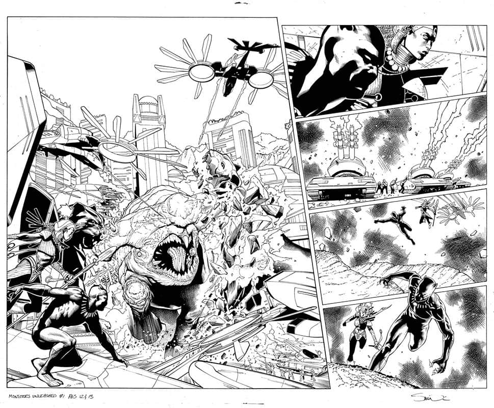 Monsters Unleashed # 1 pg12&13